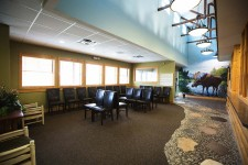 waiting area at lincoln pediatric dentistry