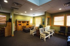 kids area at lincoln pediatric dentistry