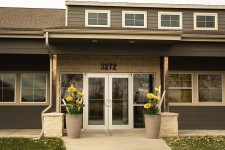 Lincoln Pediatric Dentistry north location entrance
