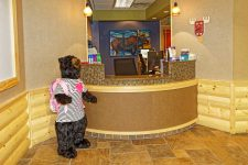 Lincoln Pediatric Dentistry East Office - reception area