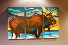 Lincoln Pediatric Dentistry East Office - Moose Painting